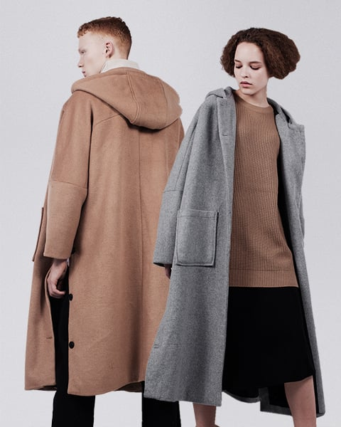 비에이블투_Hood Robe Coat