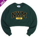 네스티팜(NASTY PALM) [NYPM] NXM SENIOR FIT SWEATSHIRTS (GREEN)
