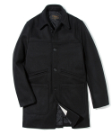 유니폼브릿지(uniformbridge) heavy wool single coat black