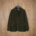 [C6CMB4001M] Wool Pocket Cruiser Jacket