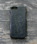 데몬하이드(DEMON HIDE) iPHONE 7 LEATHER SKIN CASE (BLACK)