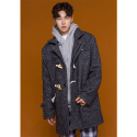 아워히스토리() Duffle Long Coat_Charcoal