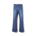 에센시(ESSENSI) [ESSENSI] EDGE CUTTED MEDIUM FLARED JEANS (ES1GFFPA11C)