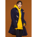 아워히스토리() Duffle Long Coat_Navy