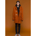 아워히스토리() Duffle Long Coat_Orange