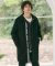 프레리(PRAIRIE) [UNISEX] XO-LINE CASHMERE WOOL OVER COAT(Black)