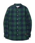러기드하우스(RUGGED HOUSE) CHECK HERRINGBONE SHIRTS 그린