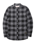 러기드하우스(RUGGED HOUSE) CHECK HERRINGBONE SHIRTS 블랙