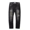 세인트페인(SAINTPAIN) SP KRUGER CRUSH DENIM PANTS-BLACK