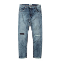 세인트페인(SAINTPAIN) SP FREDY REPAIR DENIM PANTS