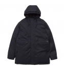브라운브레스(BROWNBREATH) OCCUR LONG PARKA - BLACK