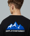 리플레이컨테이너(REPLAY CONTAINER) blue mountain mtm (black)