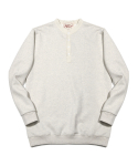 러기드하우스(RUGGED HOUSE) HENLEY-NECK NAPPING MTM 아이보리