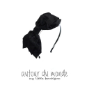 오뜨르 뒤 몽드(AUTOUR DU MONDE) SIDE RIBBON HAIRBAND