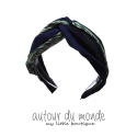 오뜨르 뒤 몽드(AUTOUR DU MONDE) LEAF TWIST HAIRBAND