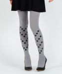 유니팝 레그웨어(UNIPOP LEGWEAR) STAR PATTERN [GRAY]