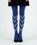 유니팝 레그웨어(UNIPOP LEGWEAR) STAR PATTERN [BLUE]