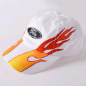 플라잉 나인티(FLYING NINETY) FNTY Real Blaze Snapback (WHITE)