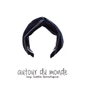 오뜨르 뒤 몽드(AUTOUR DU MONDE) AUTUMN STRIPE HAIRBAND
