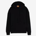 [PROJECT624] STANDARD LOOSE FIT WARM HOODIE (BLACK) / 스탠다드 루즈 기모후드 CHAPTER ONE