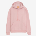 [PROJECT624] STANDARD LOOSE FIT WARM HOODIE (PINK) / 스탠다드 루즈 기모후드 CHAPTER ONE