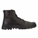 팔라디움() Pampa Hi Leather Black (W)