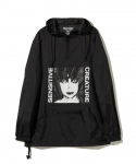 플레져스(PLEASURES) PLEASURES / SENSITIVE CREATURE ANORAK JACKET / BLACK