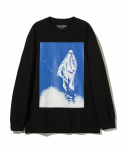 플레져스(PLEASURES) PLEASURES / SKATE GHOST LONG SLEEVE / BLACK