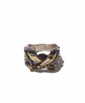 러프 앤 러기드(ROUGH AND RUGGED) ROUGH AND RUGGED / MIL RING / SILVER/BRASS