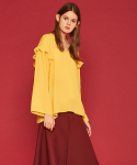 [PRE-FALL] PEEK-A-BOO BLOUSE YELLOW