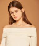 아오엠크(AOEMQ) [PRE-FALL] OFF SHOULDER WHITE