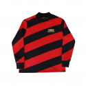 런디에스(RUNDS) RUNDS diagonal turtleneck (red)