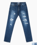 퍼스트플로어(FIRSTFLOOR) DESTROYED JEANS (2 color)