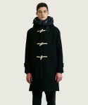 슬립워커() WOOL DUFFEL COAT [BLACK]