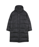 고저() LONG PARKA_BLACK