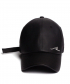 [unisex]SLEEPING COATING BLACK BALL CAP