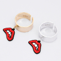 마이믹스드디자인(MY MIXED DESIGN) Lips metal ring