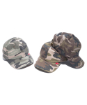라모랭(RAMOLIN) Twill 6P Teamcap Camo 3-Type