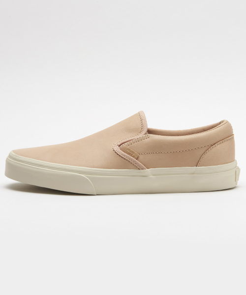 반스(VANS) Classic Slip-On DX - (Veggie Tan Leather) Tan