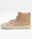 반스() SK8-Hi Reissue Zip DX - (Veggie Tan Leather) Tan