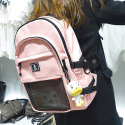 [PREMIUM]Crazy Backpack (baby pink)