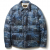 DV. LOT455 INK JET PRINTED DUCKDOWN JKT -LIGHT NAVY-