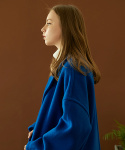 리플레이컨테이너(REPLAY CONTAINER) hoist over long coat (cobalt blue)