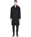 밀로그램() liner double coat_dark navy