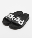 피플풋웨어(PEOPLE FOOTWEAR) THE LENNON SLIDE - BLACK/BLACK