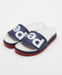 피플풋웨어(PEOPLE FOOTWEAR) THE LENNON SLIDE - MARINER BLUE/WHITE