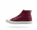 피플풋웨어(PEOPLE FOOTWEAR) THE PHILLIPS PUFFY - HIGHLAND RED W/PICKET WHITE