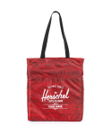 허쉘(HERSCHEL) PACKABLE TRAVEL TOTE_RED SNAKE