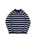 스웰맙() Swellmob roll-neck sailor sweater-stripe-