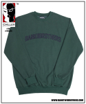 2016 BTB HEAVY SWEAT SHIRTS (FOREST GREEN)